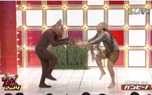 バンビーノ キングオブコント2014「ダンシングフィッソン族」