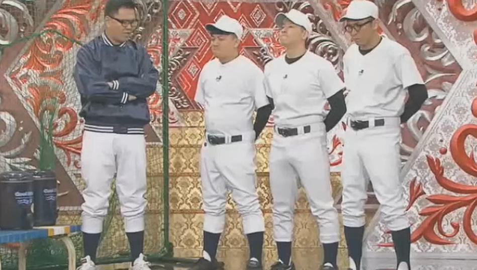 チョコンヌ 爆笑キャラパレード コント「ジンクスを守りたがる高校球児」