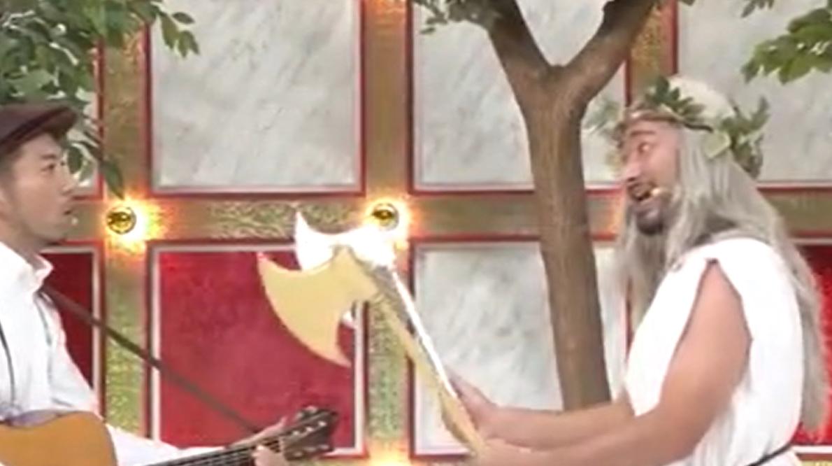 どぶろっく キングオブコント2019「金の斧銀の斧」