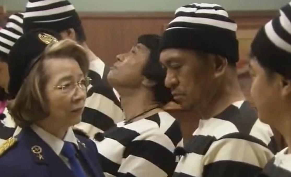 ガキの使い 笑ってはいけない大脱獄「刑務所 所長 西川ヘレン・秘書 溝端淳平」