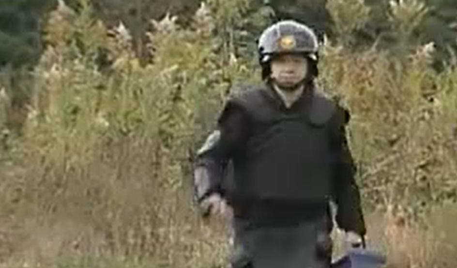 ガキの使い 笑ってはいけない警察「板尾創路 爆弾処理班」