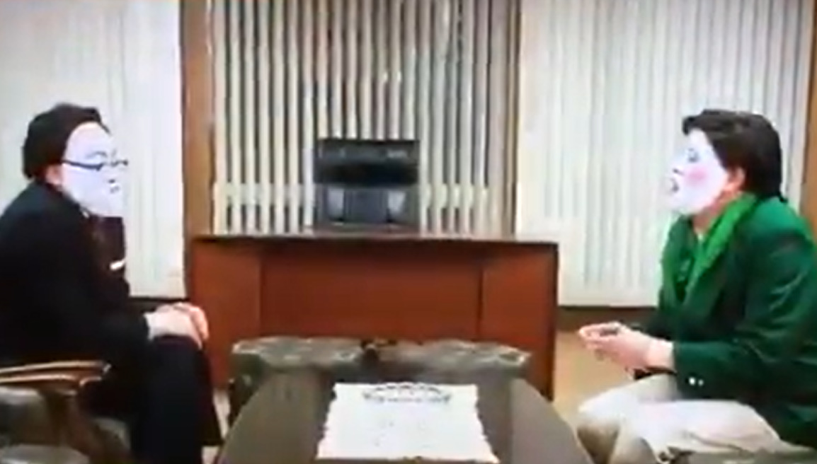 野性爆弾くっきー! 脱力タイムズ「キャスター有田×小池百合子 大物対談」